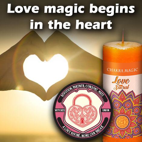 Love Magic begins in the heart