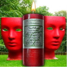 Soul Mate Affirmation Candle