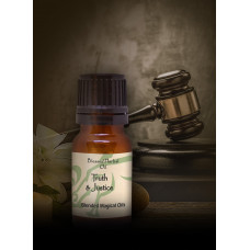 Truth & Justice Blessed Herbal Oil