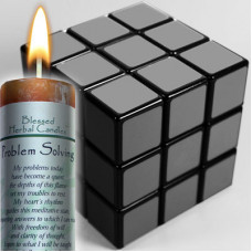 Problem Solving Blessed Herbal Candle