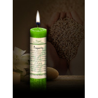 Prosperity Blessed Herbal Candle