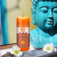Chakra Magic Love Candle