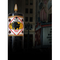 Black Cat Motor City Hoo Doo Candle
