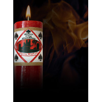 Fiery Wall of Protection Motor City Hoo Doo Candle