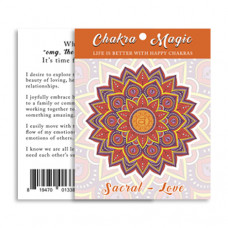 Chakra Magic Love Sticker