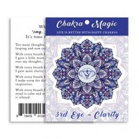 Chakra Magic Clarity Sticker
