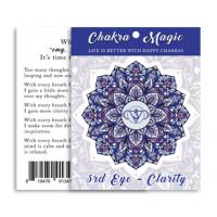 Chakra Magic Clarity Sticker