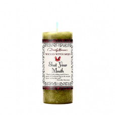 Wicked Witch Mojo Shut your Mouth Candle