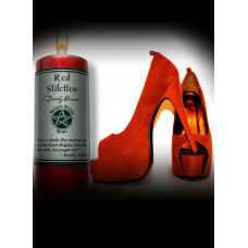 Red Stilettos Wicked Witch Mojo Candle