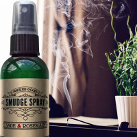 Wicked Good Smudge Spray: Sage & Rosemary