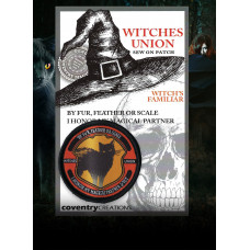 Witches Union Witch's Familiar Patch