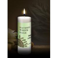 Sacred White Sage World Magic Candle