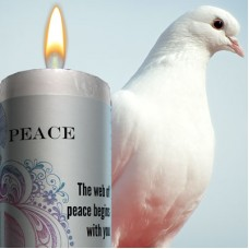 Peace World Magic Candle Limited Edition