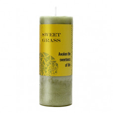 World Magic Sweet Grass  Candle