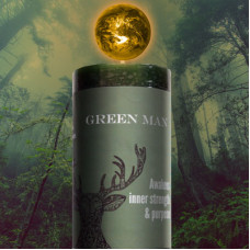 Green Man World Candle