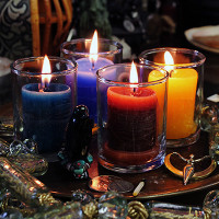 Power Votive Coventry Glass Candle Holders