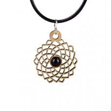 Chakra Magic Crown Wood Jewelry and Sticker