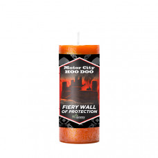 Motor City Hoo Doo Fiery Wall of Protection Candle