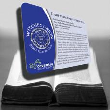 Night Terror protection spell card