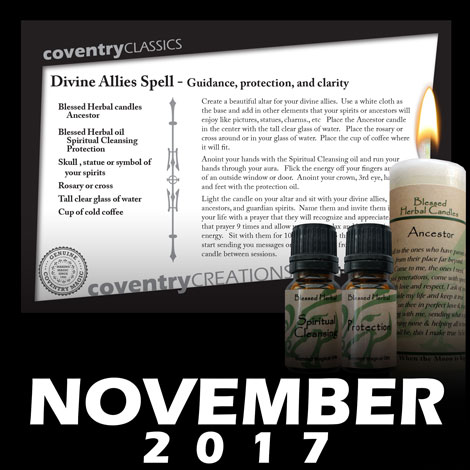 Divine Allies Spell - Guidance, protection, and clarity