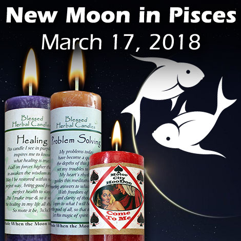 New Moon in Pisces March 17, 2018