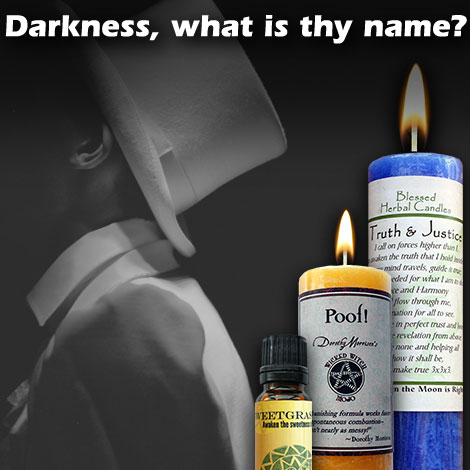 Darkness, what is thy name?