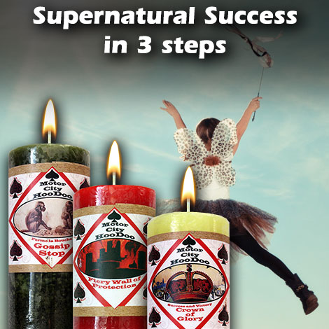 Supernatural Success in 3 steps