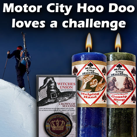 Motor City Hoo Doo loves a challenge
