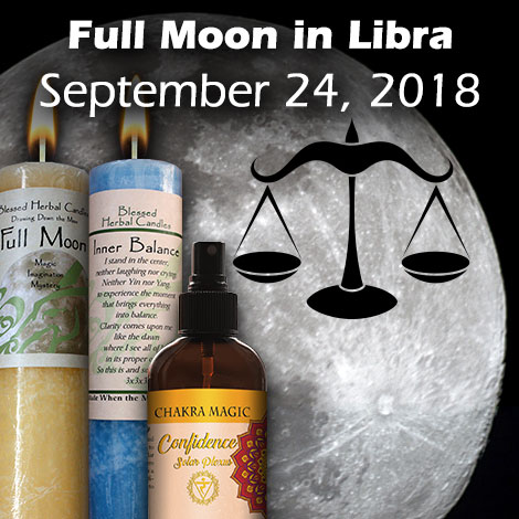 Full Moon in Libra September 24, 2018