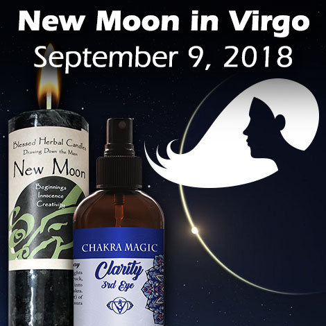 New Moon in Virgo Sept 9, 2018