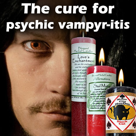 The cure for psychic vampyr-itis