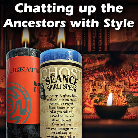 Chatting up the Ancestors with style