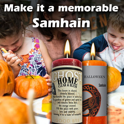 Make it a memorable Samhain