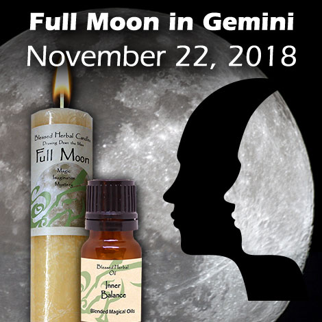Full Moon in Gemini, November 22, 2018