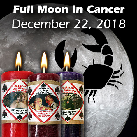 Full Moon in Cancer, December 22, 2018