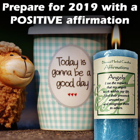 Prepare for 2019 with a POSITIVE affirmation