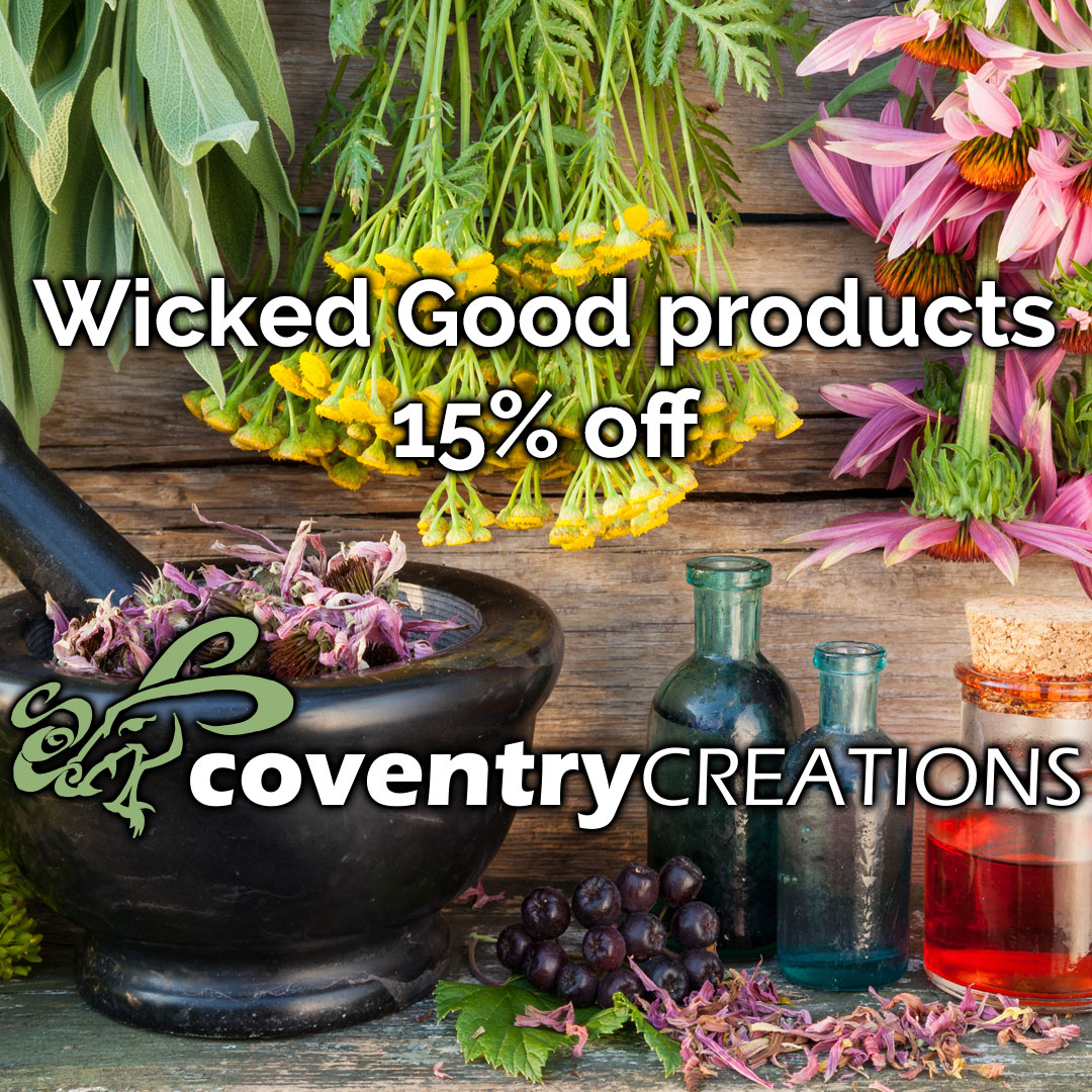 Wicked Good products 15% off