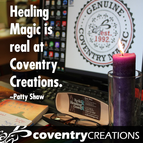 25 ways to heal with Coventry Creations