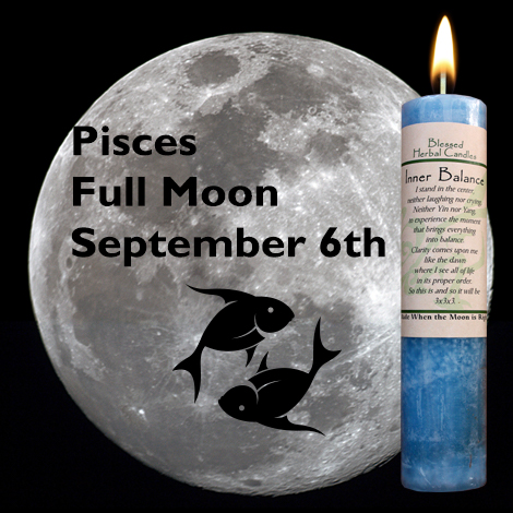 Full moon in Pisces on September 6, 2017